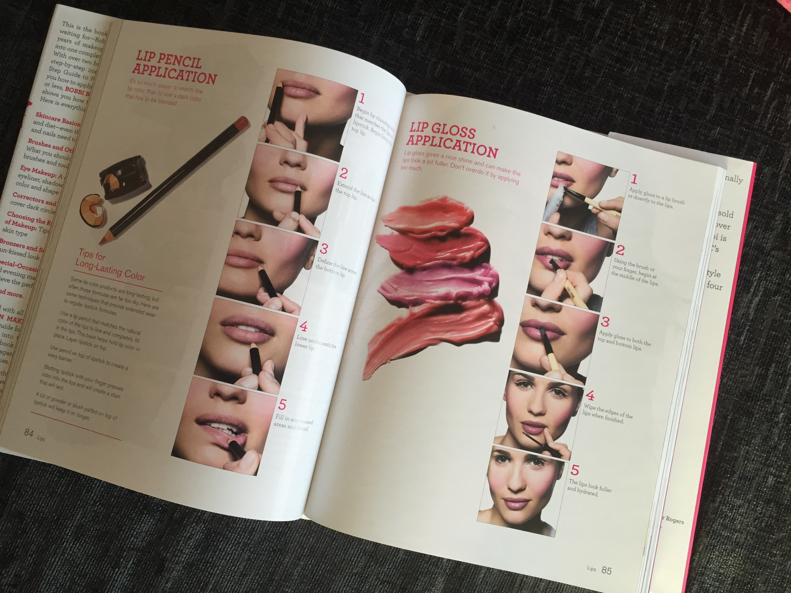 Bobbi brown book makeup lesson